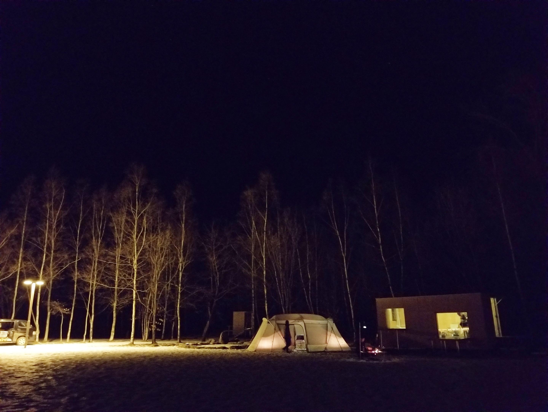 """4歳の息子と初めての""""冬""""キャンプ"""